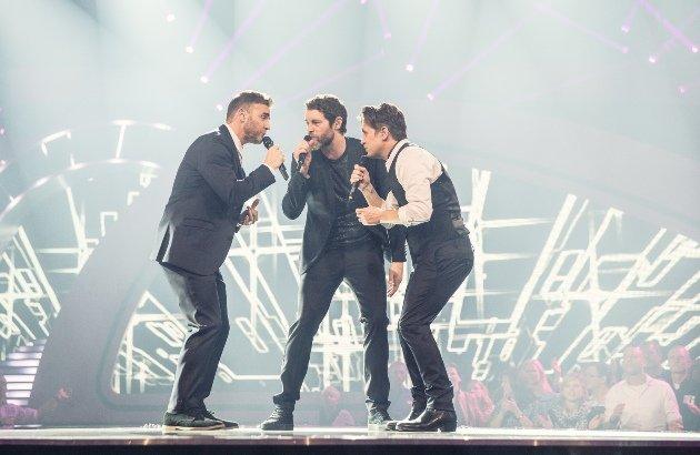 Take That in der Helene-Fischer-Show 2014 - Foto: (c) ZDF und Sandra Ludewig