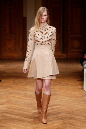 Fashion Week Berlin Januar 2015 - Mode Herbst-Winter 2015-2016 Dorothee Schumacher - 01