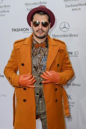 Manuel Cortez auf der Fashion Week Berlin Januar 2015 - 3