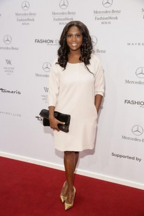 Motsi Mabuse auf der MB Fashion Week Berlin Januar 2015