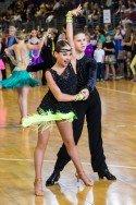 Berliner Meisterschaft 2015 Lateinamerikanische Tänze Efrem Kuzmichenko - Samira Hafez mit Sieg-Chancen - Foto: (c) René Bolcz