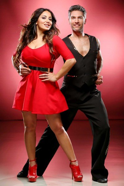 Enissa Amani - Christian Polanc als Tanzpaar bei Let's dance 2015 – Foto: © RTL – Stefan Gregorowius