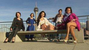 Flirt oder Fiasko 2.-6. Februar 2015 - Barbara, Hoa, Manuela, Melanie, Nicky - Foto: © VOX – Constantin Entertainment