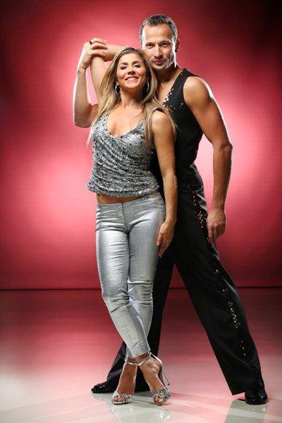 Panagiota Petridou - Sergiu Luca als Tanzpaar bei Let's dance 2015 - Foto: © RTL - Stefan Gregorowius