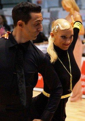 Jonatan Rodriguez - Jenny Singh-Müller - Profi-Tänzer aus Berlin - Platz 5 zur DM Latein 2015 - Foto: (c) Salsango - Karsten Heimberger