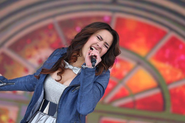DSDS 25.4.2015 Viviana Grisafi Live-Show in Ischgl - Foto: © RTL – Stefan Gregorowius