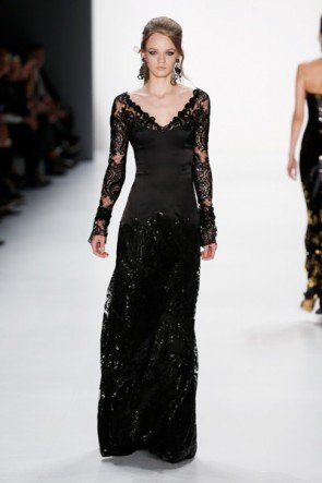 Abendkleid von Guido Maria Kretschmer Mode Herbst 2015 - Winter 2016 zur MB Fashion Week Berlin