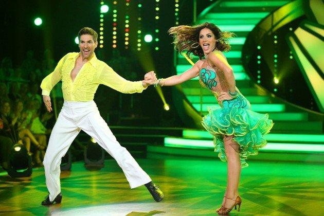 Christian Polanc - Enissa Amani - Samba bei Let's dance 2015 am 22.5.2015 - Foto: © RTL / Stefan Gregorowius