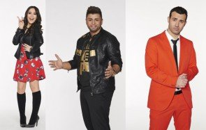 DSDS Gewinner-Album 2015 - Viviana Grisafi, Severino Seeger, Antonio Gerardi - Fotos: © RTL - Christoph Kassette