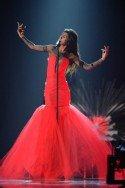 ESC 2015 2. Halbfinale 21.5.2015 -Aminata aus Lettland - Foto: (c) ORF - Thomas Ramstorfer