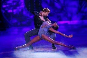 Let's dance 2015 Show 9 15.5.2015 – ausgeschieden Daniel Küblböck - Otlile Mabuse - Foto: © RTL – Stefan Gregorowius
