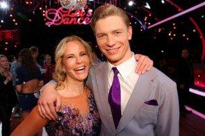 Let's dance 2015 Show 7 1.5.2015 - ausgeschieden Paul Lorenz - Katja Burkard - Foto: © RTL - Stefan Gregorowius