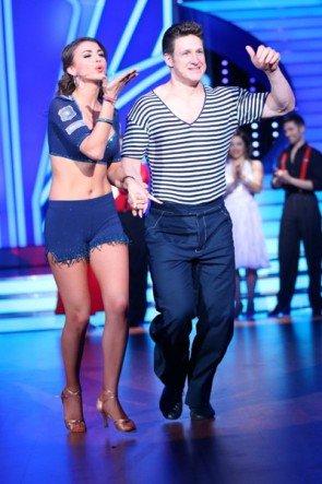 Let's dance 8. Mai 2015 - Rockt Ekaterina Leonova mit Matthais Steiner den Discofox - Foto: © RTL - Stefan Gregorowius