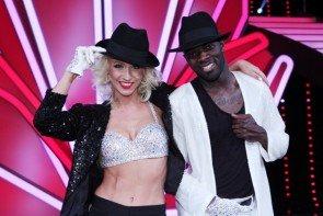 Let's dance am 22. Mai 2015 - Können Kathrin Menzinger und Hans Sarpei es allen beweisen - Foto: © Frank Hempel / RTL