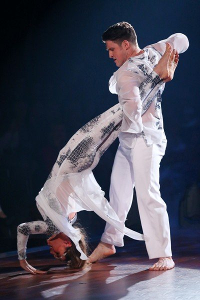 Matthias Steiner – Ekaterina Leonova im Halbfinale von Let's dance 2015 - Foto: © RTL - Stefan Gregorowius