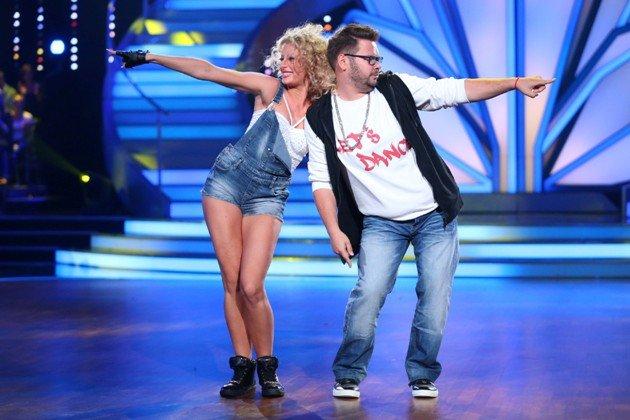 Thomas Drechsel - Regina Murtasina beim Hip Hop Let's dance 2015 am 22.5.2015 - Foto: © RTL / Stefan Gregorowius
