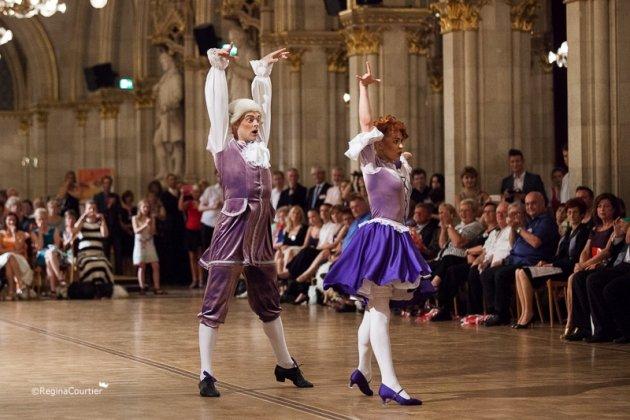 Ivan Kudashev - Ksenia Sokolova Platz 3 zur WM Showdance Latein 2015 - Foto: (c) Regina Courtier