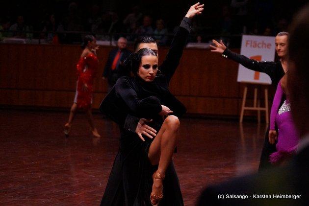 Rami Schehimi - Susan Fichte - Deutschland - GOC Mannheim 2015 - 13. WDC AL - 01 - Foto: (c) Salsango - Karsten Heimberger