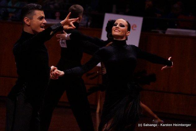 Rami Schehimi - Susan Fichte - Deutschland - GOC Mannheim 2015 - 13. WDC AL - 04 - Foto: (c) Salsango - Karsten Heimberger