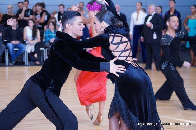 Rami Schehimi - Susan Fichte - Deutschland - GOC Mannheim 2015 - 13. WDC AL - 17 - Foto: (c) Salsango - Karsten Heimberger