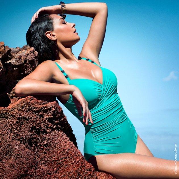 Badeanzug 2015 PrimaDonna Swim - Model Cocktail Farbe Summer Green