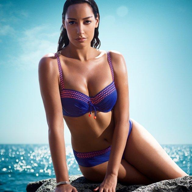 Bikini 2015 PrimaDonna Swim - Model Ibiza Fabe Crazy Blue