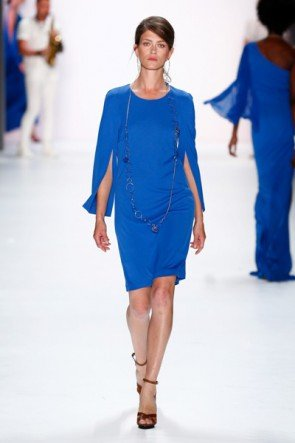 Blau Sommer-Mode 2016 von Riani - Fashion Week Berlin Juli 2015 - 2