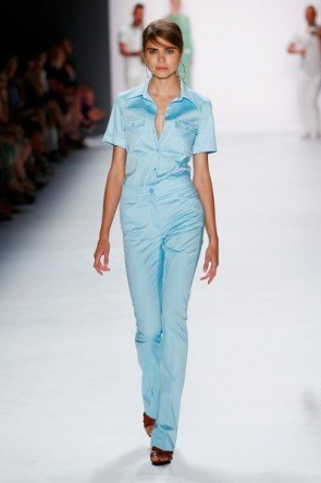 Hellblau Sommer-Mode 2016 von Riani Fashion Week Berlin Juli 2015 - 6