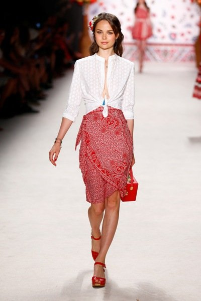 Lena Hoschek Frische Sommer Mode 2016 Fashion Week Berlin Juli 2015