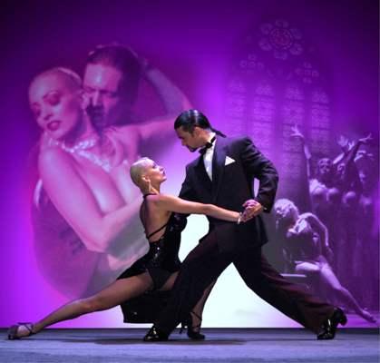 Tango-Show Tango Seduccion beim Tango-Festival Fürth 2015