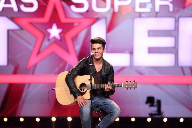Alessio Greco beim Supertalent am 19.9.2015 - Foto: (c) RTL - Frank Hempel