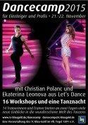 Dance-Camp 2015 Berlin mit Christian Polanc und Ekaterina Leonova