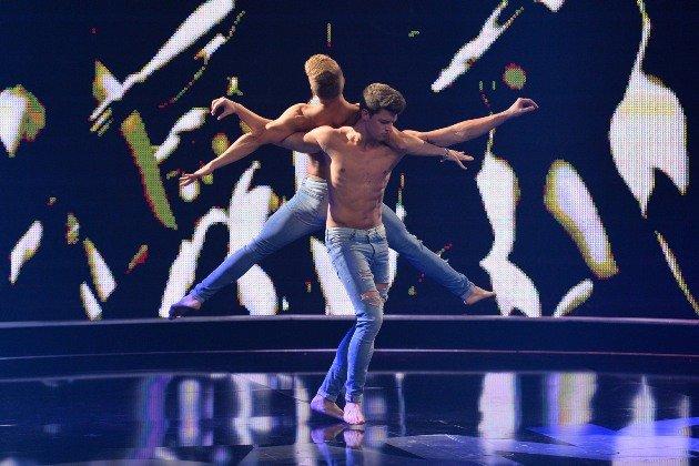 Duo Piti gewinnt Got to dance Finale 2015 - Foto: (c) Willi Weber – ProSieben
