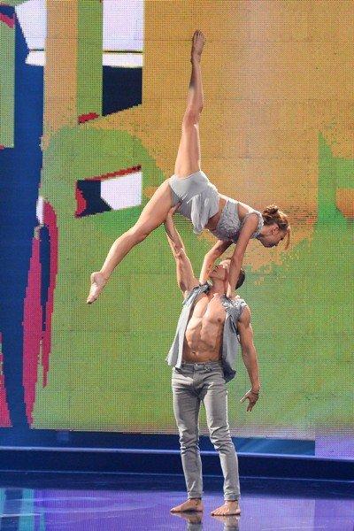 Finale Got to dance 2015 - Michal und Olena - Foto: (c) Willi Weber – ProSieben