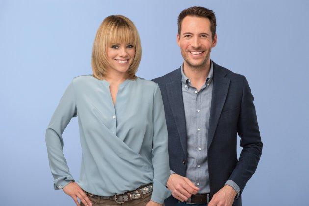 Francine Jordi und Alexander Mazza moderieren die neue Stadlshow - Foto: (c) ORF - Thomas Ramstorfer