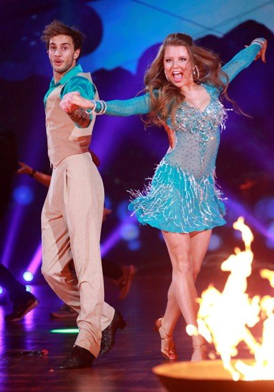 Stepping Out 11.9.2015 - Joelina Drews - Marc Aurel Zeeb tanzten beeindruckend - Foto: © RTL – Stefan Gregorowius