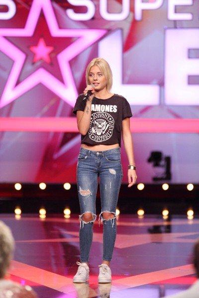 Supertalent am 19.9.2015 -Kandidatin Carolina Anselm - Foto: (c) RTL - Frank Hempel