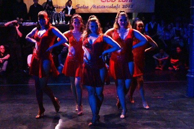 Anitas Ladies Time - Süd-Deutsche Salsa-Meisterschaft 2015 - 3 - Foto: (c) Salsango - Karsten Heimberger