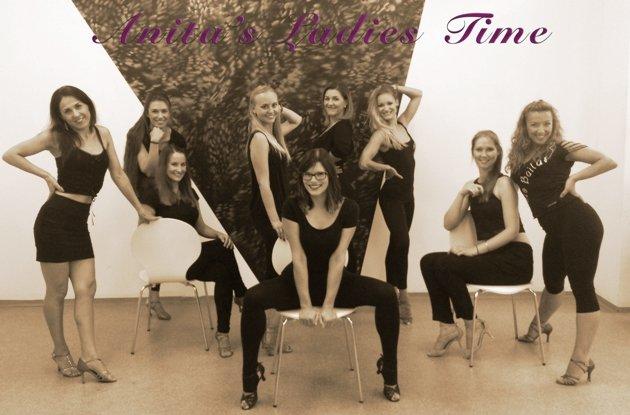 Anita's Ladies Time - Show-Gruppe zur Süd-Deutschen Salsa-Meisterschaft 2015