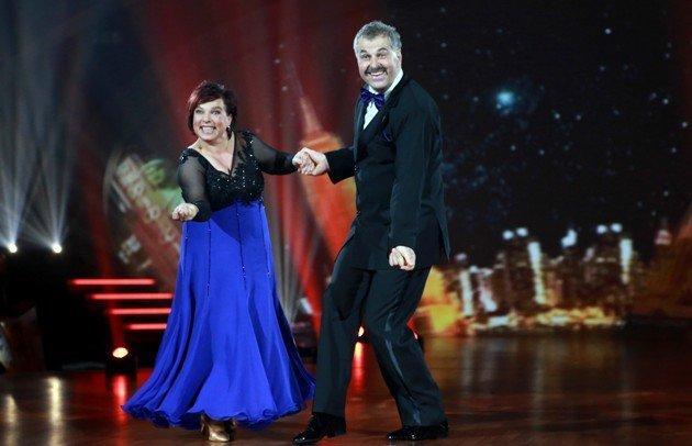 Anja und Bruno Rauh bei Stepping Out am 2.10.2015 - Foto: (c) RTL – Stefan Gregorowius