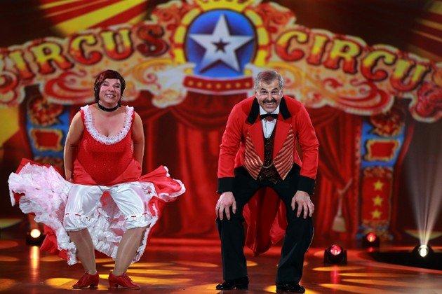 Anja und Bruno Rauh bei Stepping Out am 9.10.2015 - Foto: (c) RTL - Stefan Gregorowius