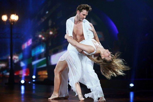 Anna und Marvin beim Modern Dance Stepping Out 2.10.2015 - Foto: (c) RTL – Stefan Gregorowius