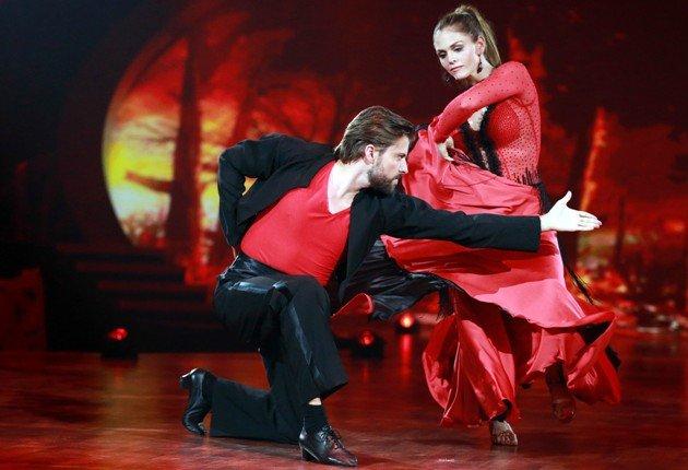 Ausgeschieden bei Stepping Out 2.10.2015 Felix von Jascheroff - Lisa Steiner - Foto: (c) RTL - Stefan Gregorowius