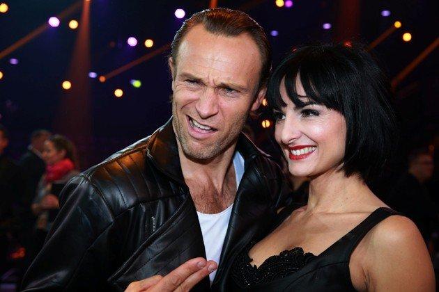 Ausgeschieden bei Stepping Out 9.10.2015 Bernhard Bettermann und Mimi Fiedler - Foto: (c) RTL - Stefan Gregorowius