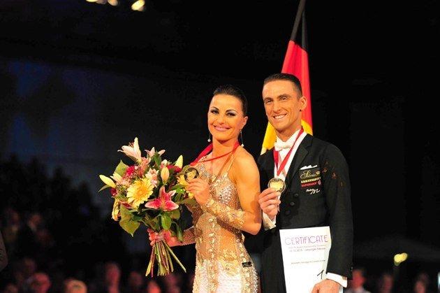 Benedetto Ferruggia - Claudia Koehler Profi-Weltmeister 2015 Standardtänze - Foto: (c) Westend-PR - Dieter Grundmann