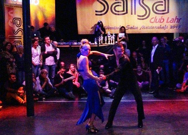 Djalil Arib - Angie Fourel zur Süd-Deutschen Salsa-Meisterschaft 2015 - 2 - Foto: (c) Salsango - Karsten Heimberger