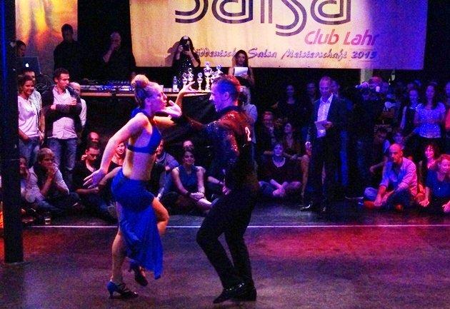 Djalil Arib - Angie Fourel zur Süd-Deutschen Salsa-Meisterschaft 2015 - 3 - Foto: (c) Salsango - Karsten Heimberger