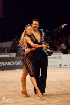 Ilja Russo - Oxana Lebedew 2015 - World Masters Latin Innsbruck - Foto: (c) Regina Courtier