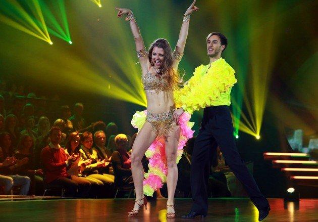 Joelina Drews - Marc Aurel Zeeb Samba bei Stepping Out 2.10.2015 - Foto: (c) RTL – Stefan Gregorowius