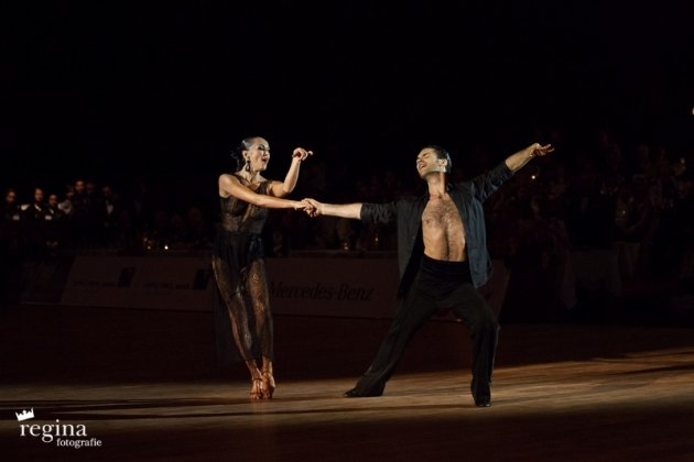 Manuel Favilla - Natalia Maidiuk 2015 - World Masters Latin Innsbruck - Platz 4 - Foto: (c) Regina Courtier